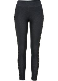 Leggings, Denim-Optik mit Strass, BODYFLIRT boutique