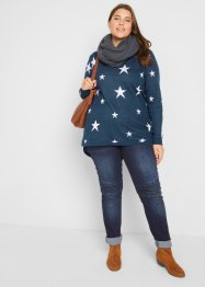 Vokuhila Pullover, langarm, bpc bonprix collection
