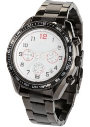 Herren Chronograph Edelstahl, bpc bonprix collection