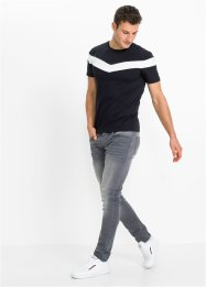 Modernes Basic Stretch-T-Shirt, Slim Fit