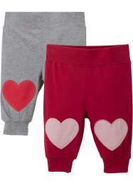Baby Shirthose (2er Pack) Bio Baumwolle, bpc bonprix collection