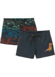 Jungen Badehose (2er-Pack), bpc bonprix collection
