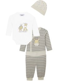 Baby Erstlingsset (4-tlg.Set) Bio-Baumwolle, bpc bonprix collection