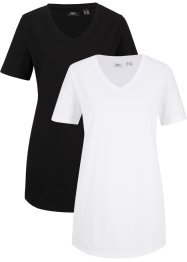 Basic T-Shirt, lang, bpc bonprix collection