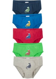 Jungen Slip (5er Pack), bpc bonprix collection