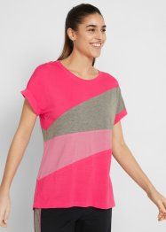 Sport-T-Shirt mit TENCEL™ Lyocell, kurzarm, bpc bonprix collection