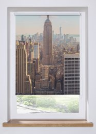 Verdunkelungsrollo mit New York Motiv, bpc living bonprix collection