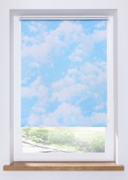 Verdunkelungsrollo mt Wolken Motiv, bpc living bonprix collection