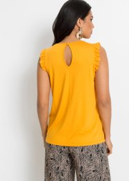 Shirttop mit Volants, BODYFLIRT