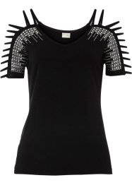 Shirt mit Strass, BODYFLIRT boutique