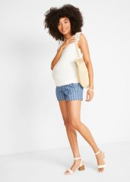 Umstands Jeans Shorts mit Streifen, bpc bonprix collection