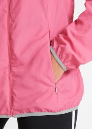 Trainingsjacke mit Beutel, langarm, bpc bonprix collection