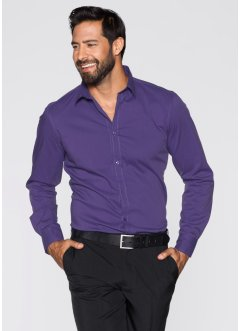 Herren Stretch-Hemd, Slim Fit, bpc selection