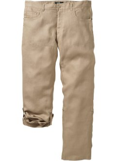 Leinen-Hose Regular Fit, bpc selection