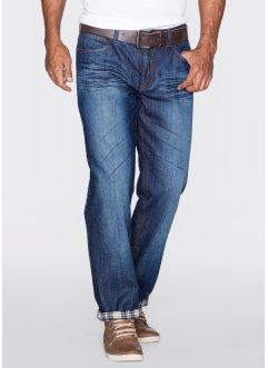 Thermo-Jeans STRAIGHT, John Baner JEANSWEAR, dunkelblau