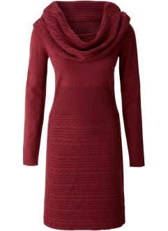 Strickkleid, BODYFLIRT, bordeaux