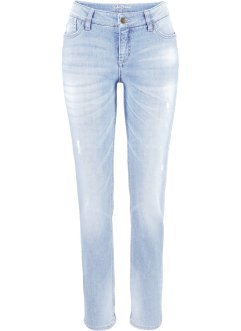 Stretch-Jeans im Slim Fit, John Baner JEANSWEAR, hellblau
