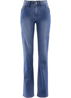Power-Stretch-Push-Up-Jeans im Bootcut, bpc bonprix collection, blue stone used