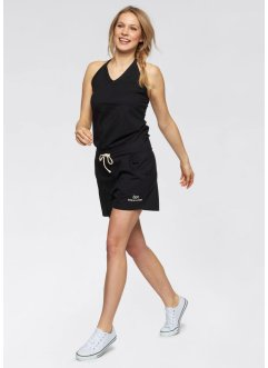 Kurzer Overall, bpc bonprix collection, schwarz