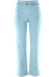 7/8-Superstretch-Schlupfjeans, bpc bonprix collection, blue bleached