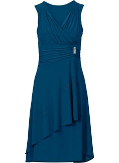 Kleid mit Applikation, BODYFLIRT, blaupetrol