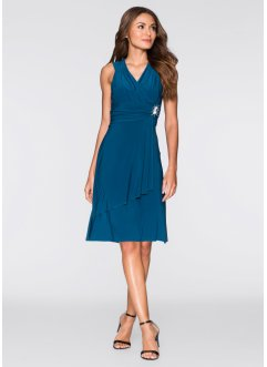 Kleid mit Applikation, BODYFLIRT, blau