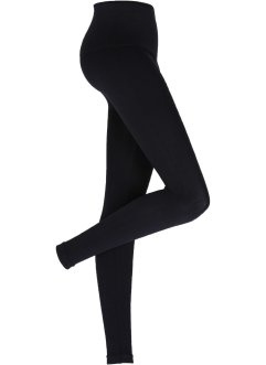 Seamless Leggings mit Bauchweg-Effekt, bpc bonprix collection, schwarz