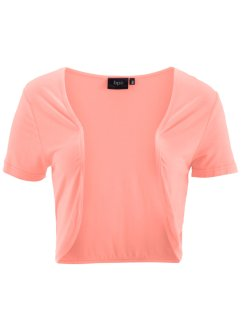 Shirt-Bolero, bpc bonprix collection, lachsrosa