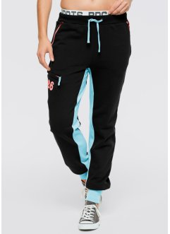 Jogginghose, bpc bonprix collection, schwarz