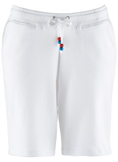 Sweatshorts, bpc bonprix collection, weiß