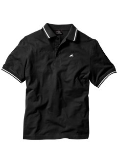 Poloshirt, Regular Fit, bpc bonprix collection, schwarz