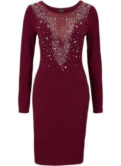 Abendkleid mit Glitzersteinchen, BODYFLIRT boutique