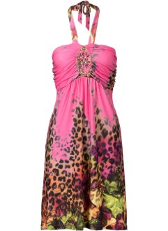 Kleid mit Schmuckapplikation, BODYFLIRT boutique, pink