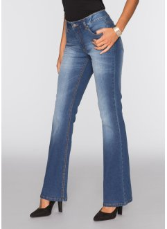 Stretch-Jeans im Flared-Stil, BODYFLIRT, blue stone denim