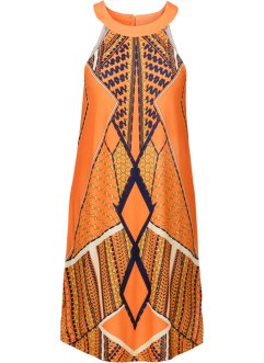 Kleid, BODYFLIRT boutique, orange multi