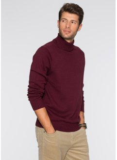 Rollkragenpullover Regular Fit, bpc bonprix collection, ahornrot