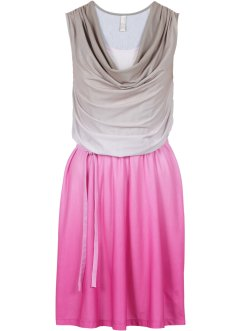 Kleid, BODYFLIRT boutique, taupe/pink
