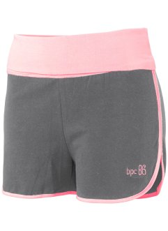 Shorts, bpc bonprix collection, grau meliert