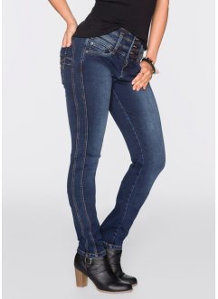 "Power-Stretch-Jeans ""Bauch-Beine-Po"", Slim, John Baner JEANSWEAR, dunkelblau"