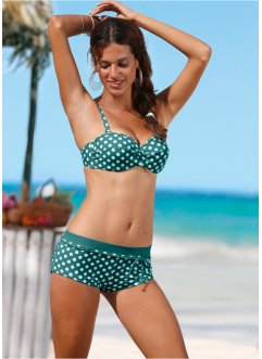 Bikinihose, bpc bonprix collection, petrol