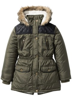 Parka mit Kapuze und Teddyfutter, bpc bonprix collection