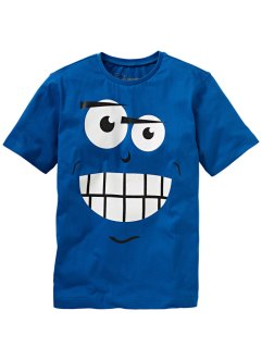 T-Shirt, bpc bonprix collection, azurblau