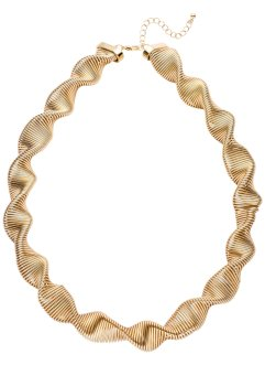 Collier gedreht, bpc bonprix collection, goldfarben