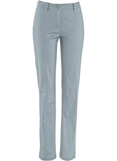 Figurformende 5-Pocket-Hose, bpc bonprix collection, silbergrau