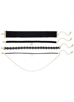 4-tlg. Choker Set, bpc bonprix collection