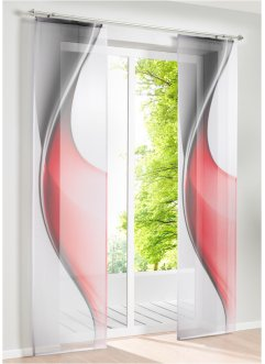 Schiebegardine mit Grafik Druck (1er Pack), bpc living bonprix collection