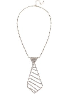 Schmuck Krawatte mit Strass, bpc bonprix collection