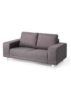 "Sofa ""Largo"" 2-Sitzer, bpc living, anthrazit"