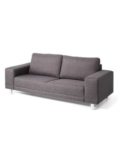 "Sofa ""Largo"" 3-Sitzer, bpc living, anthrazit"