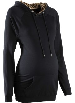 Umstands-Sweatshirt, bpc bonprix collection, schwarz